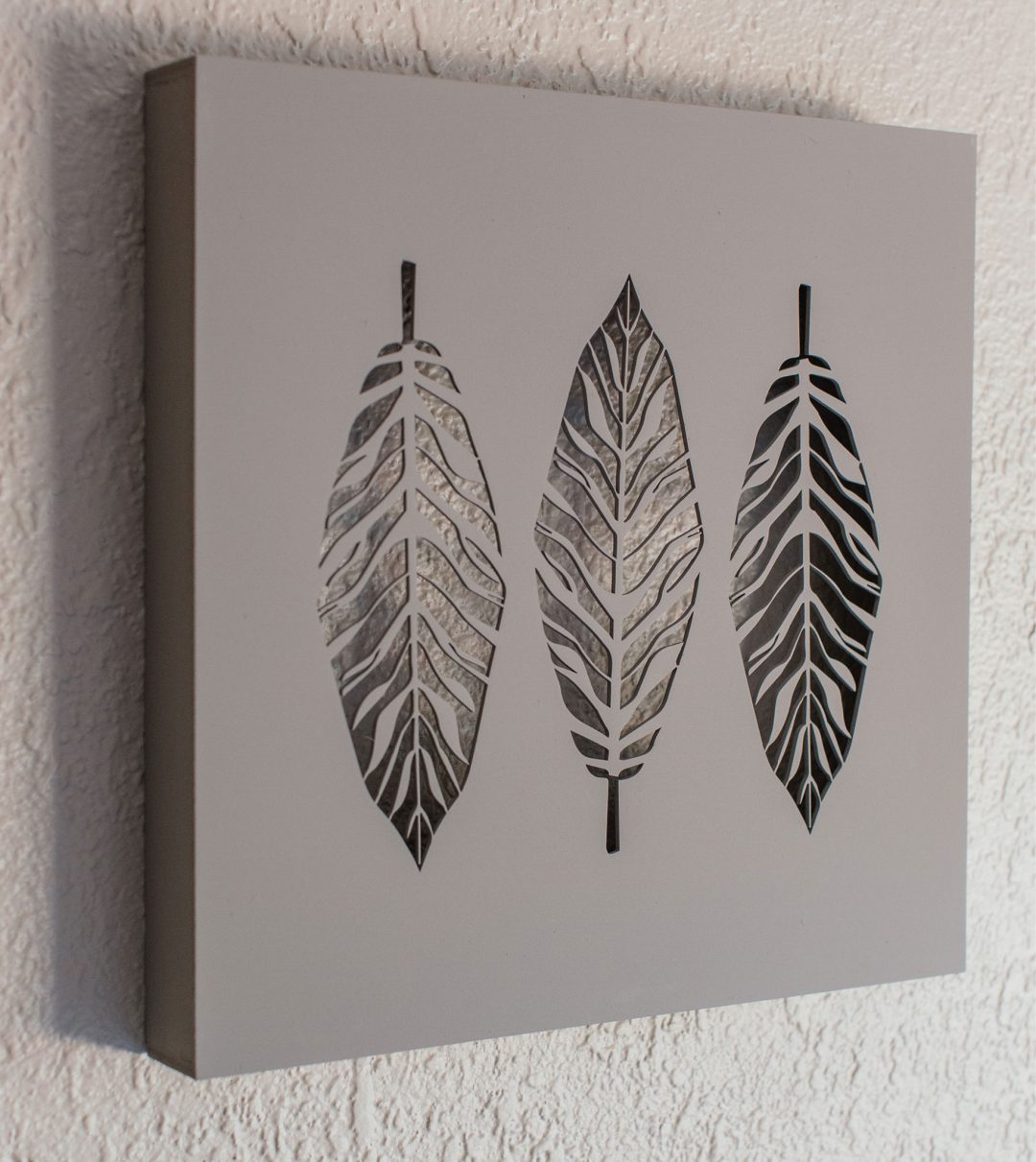 3D Wooden Canvas Boxes