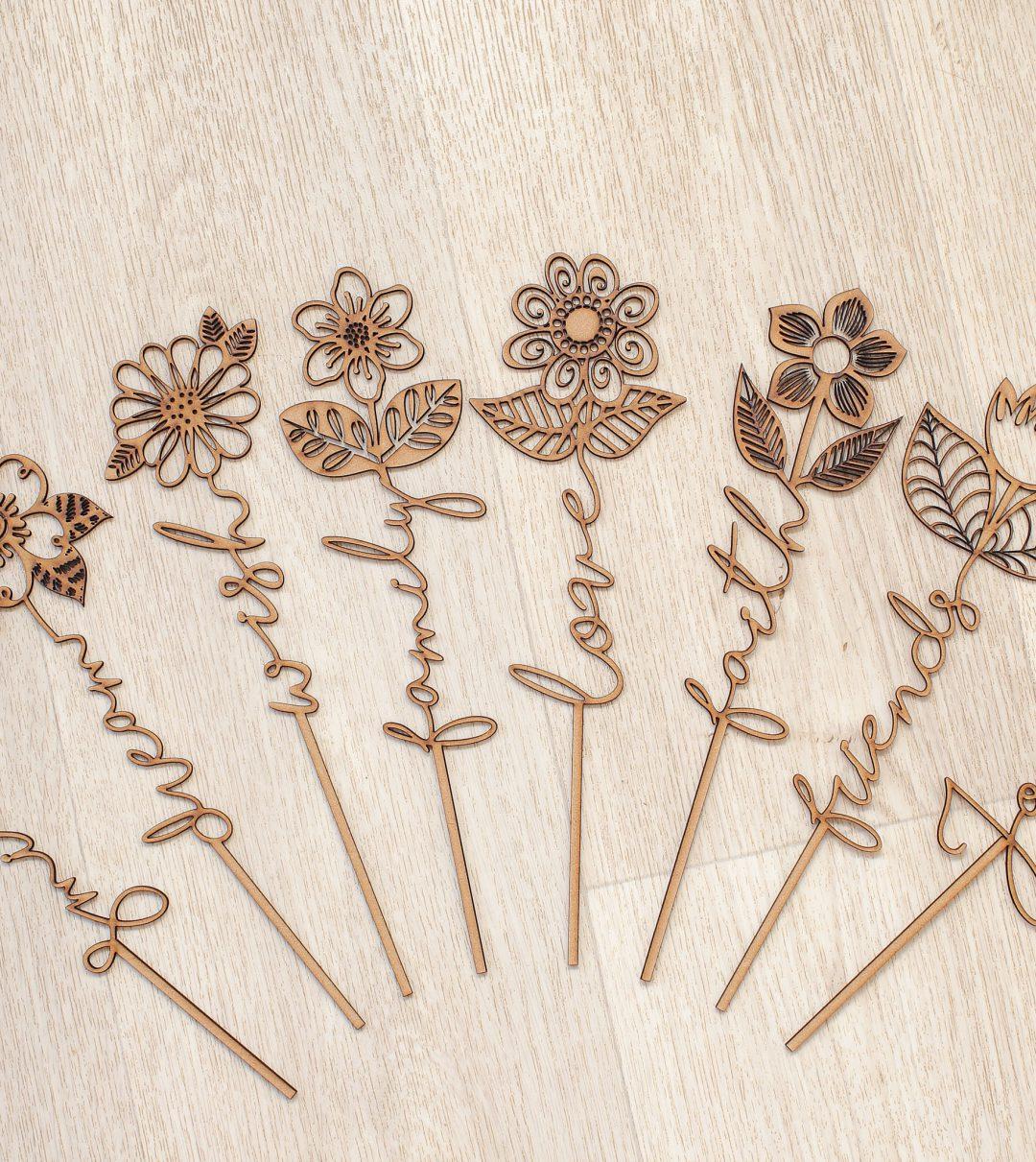 Word Flowers